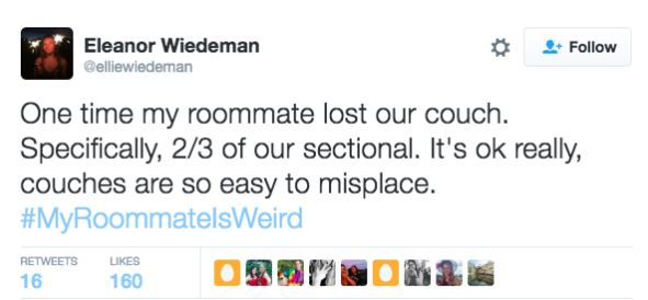 twitter 2 Twitter Users Share Their Weirdest And Wackiest Roommate Stories