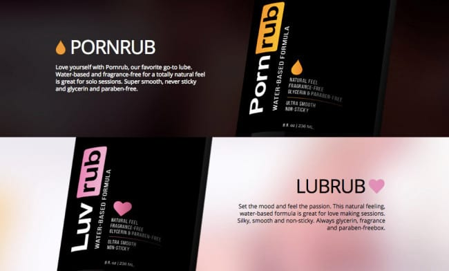 14156UNILAD imageoptim new lubes lubricants phub 1 Pornhub Releases NSFW Video Of Their New Lube Slide
