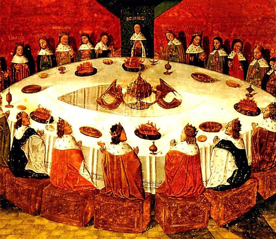 18186UNILAD imageoptim 885px King Arthur and the Knights of the Round Table wikimedia Has Magic Ever Really Existed In Britain?