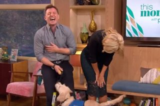 Holly Willoughby's X-Rated This Morning Blunder Leaves Viewers In Tears