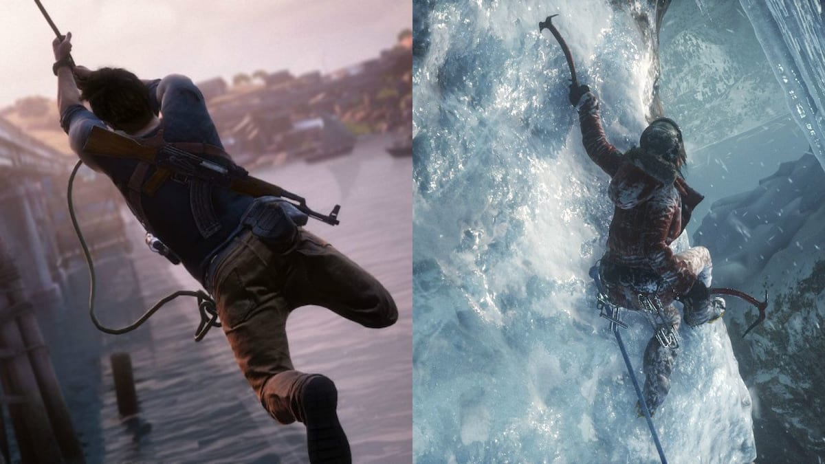 46100UNILAD imageoptim uncharted 4 v rise of the tomb raider Tomb Raider Dev Speaks Out On Uncharted Rivalry