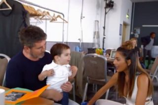 Simon Cowell's Two-Year-Old Son 'Proves The X Factor Is Fixed'