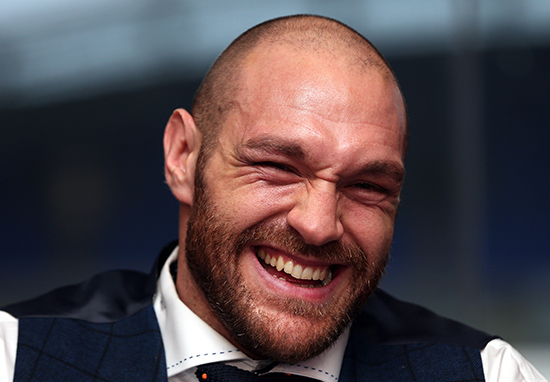 Fury web Tyson Fury Responds To Those Cocaine Rumours