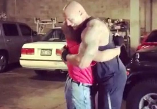 The Rock's Simple Act Of Kindness Makes Disabled Fan's Dreams Come True