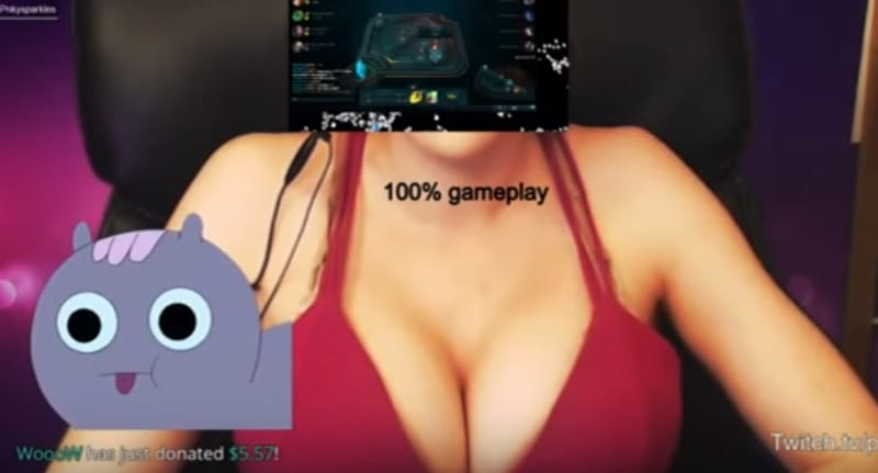Gamer Girl Banned From Twitch For Broadcasting X Rated Gameplay 27221UNILAD imageoptim Twitch gamer porn ban donation