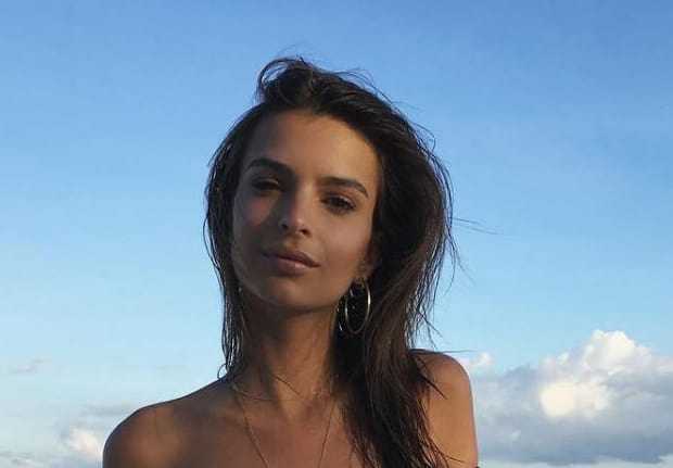 Emily Ratajkowski Was Photographed Topless And Comments Got Really Weird