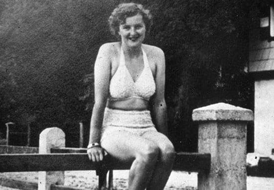 Naked Pictures Of Hitler's Girlfriend Revealed In Weirdest Nude Leak In History