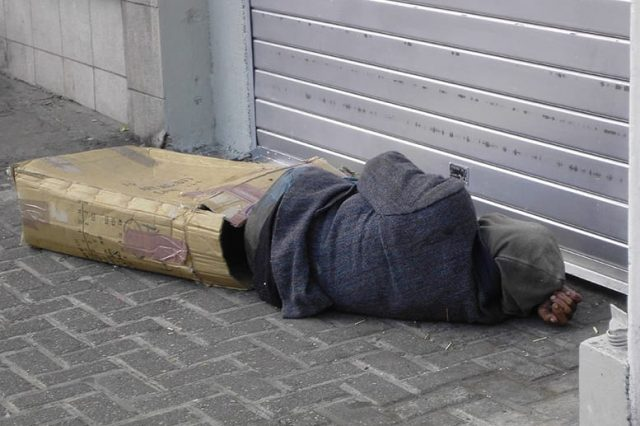 What To Do If You See Someone Sleeping Rough In The Cold