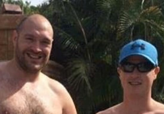 Tyson Fury Body Shamed After Posing For Topless Photo