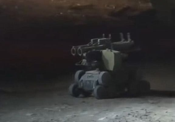 Russian Special Forces Release Footage Of Robot Killing ISIS Leader