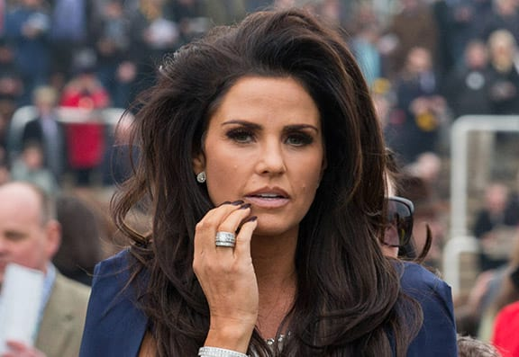 Katie Price In Trouble Over Harvey's Disabled Parking Badge