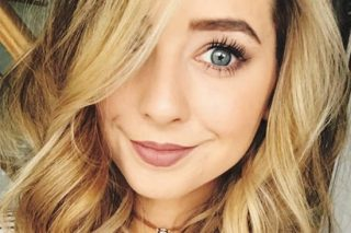 Zoella Poses Topless To Hit Back At Body-Shaming Critics