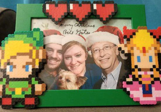 Lucky Person Gets Bill Gates As Her Secret Santa And His Gifts Are Incredible