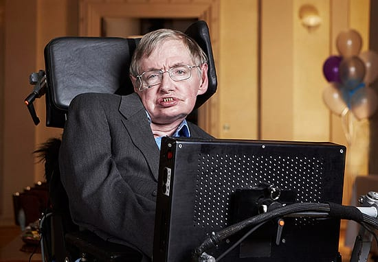 Stephen Hawking Responds To 'Distasteful' Joke Made By Ant And Dec
