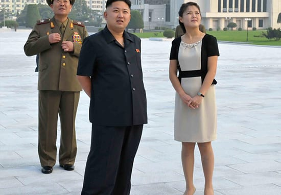 Kim Jong-un's Wife Spotted In Public After Disappearing For Seven Months