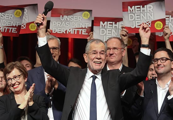 Far-Right Defeated In Austrian Election