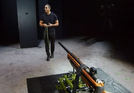 David Blaine Shot Himself In The Mouth In Stunt Gone Wrong