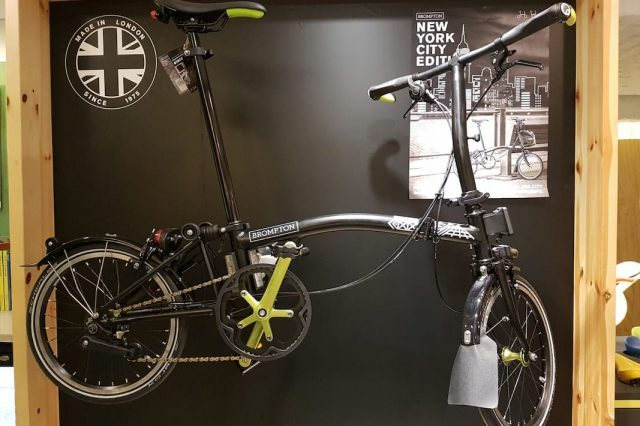 Brompton New York Edition Bike Is Perfect For Commuters