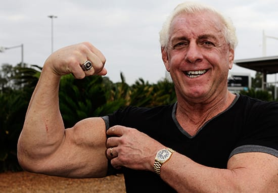Ric Flair Can Still Deadlift 400lbs At 67 Years Old