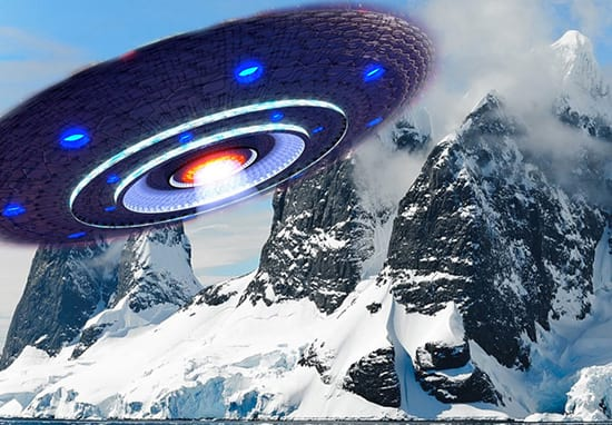 UFO Hunters Think This Image Shows Alien Landing Site In Antarctic