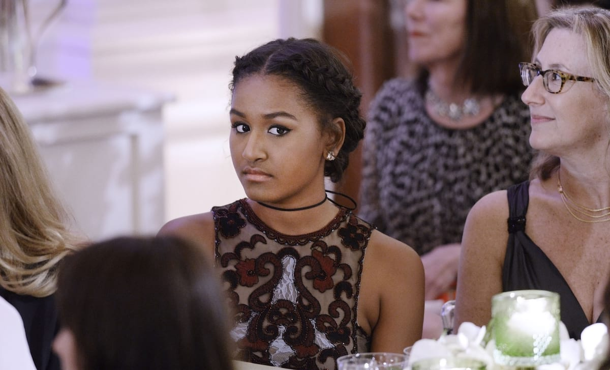 Heres Why Sasha Obama Missed Her Dads Farewell Speech 61069UNILAD imageoptim GettyImages 514696994