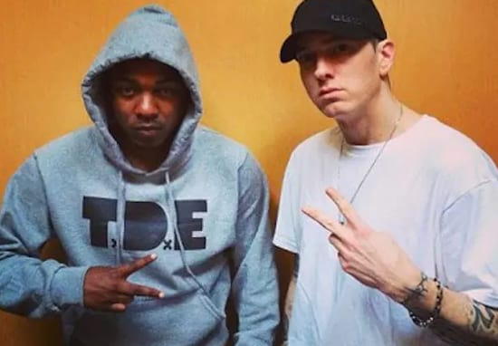 How Eminem Found Out Kendrick Lamar Doesn't Use A Ghostwriter