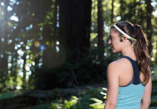 These Awesome Headphones Use Vibrations To Make Your Workouts Far Safer
