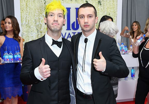 Here's Why Twenty One Pilots Received Their Grammy In Their Pants