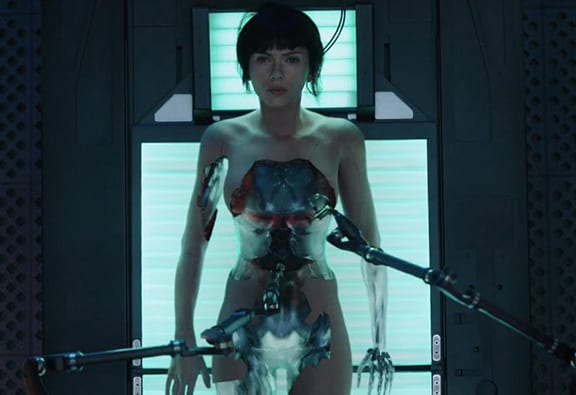 Scarlett Johansson Kicks Bad Guy Butt In New Ghost In The Shell Trailer