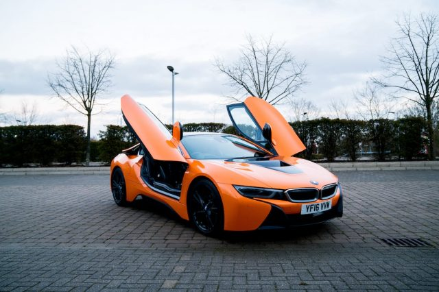 We Took The Orange BMW i8 For A Spin And It Was Wonderful