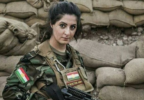Student Has $1 Million Bounty On Her Head After Killing 100 ISIS Militants