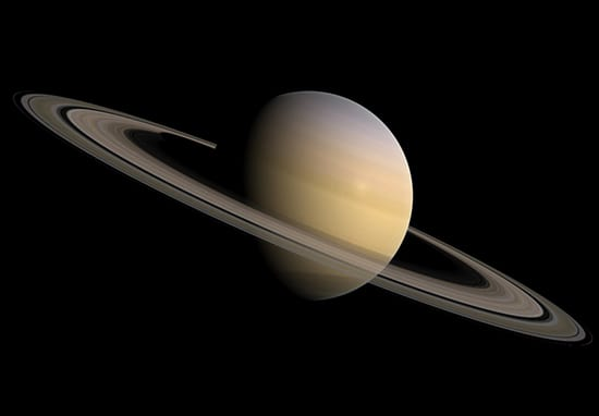 NASA Releases Most Detailed Pics Of Saturn Ever Taken