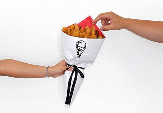 KFC Launch Fried Chicken Bouquets For Valentine's Day