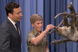 Steve Irwin's Son Appeared On Jimmy Fallon And Looked Just Like His Dad