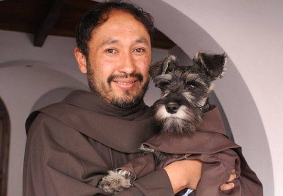 Monastery Adopts Stray Dog And Makes Him An Honorary Monk