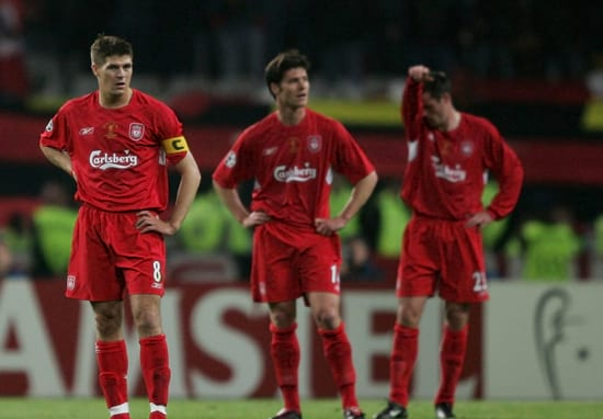 What Steven Gerrard Said At Half Time In Istanbul Has Been Revealed