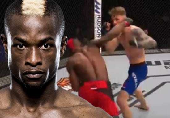 Marc Diakiese Scores Savage One-Punch KO At UFC London