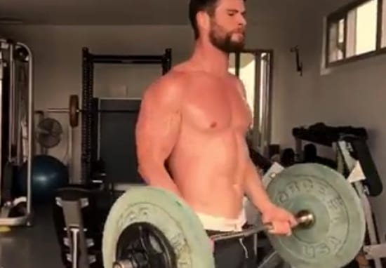 Chris Hemsworth's Workouts Look Intense AF As He Prepares For Thor's Return