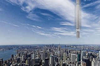 Plans Unveiled For Incredible Skyscraper That Hangs From An Asteroid