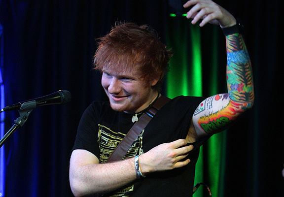 Ed Sheeran's Tattoo Artist Trolled Him For Life With Deliberate F*ck Up