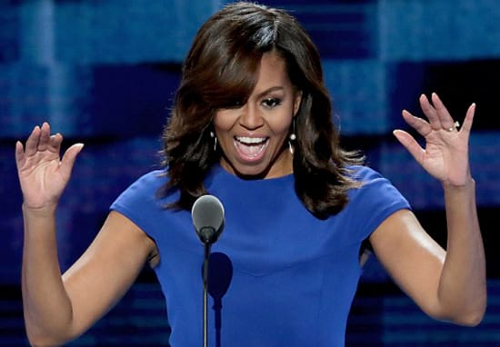 Michelle Obama Finally Reveals Her Natural Hair, Internet Loses Its Sh*t