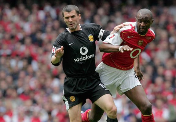 Patrick Vieira Talks Arsene Wenger's Future And His Rivalry With Roy Keane