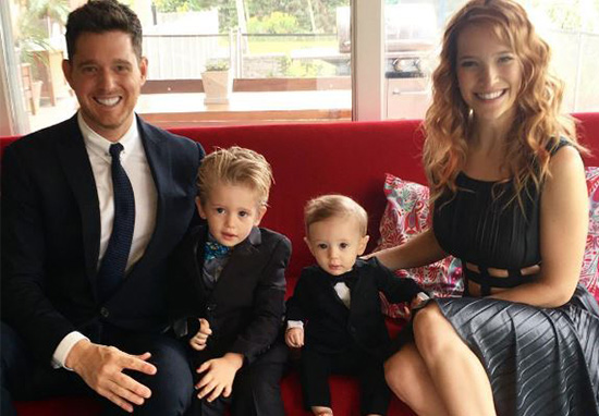 Michael Buble's Wife Speaks Out For First Time Since Son Noah's Cancer Recovery