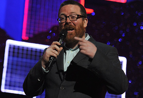 Frankie Boyle's Response To Possible Nuclear War Is Hilarious