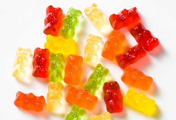 Here's What Haribo's Green Gummy Bears Are Actually Flavoured
