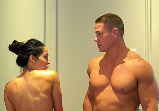 John Cena And Nikki Bella Stripped Naked On YouTube To 'Thank Their Fans'